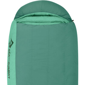 Sea to Summit Journey JoII Sac de couchage Normal Femme, emerald/peacock